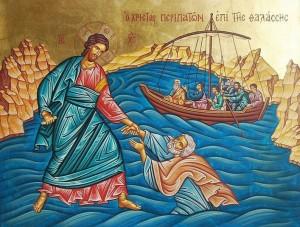 Господь идет по водам