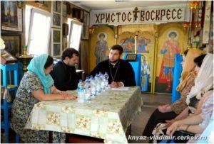 На заседании Приходского собрания