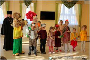 Пасхальный спектакль в детском саду Изумрудный город