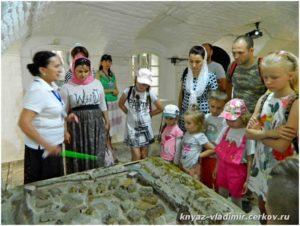 Осмотр экспозиции об истории Донского казачества