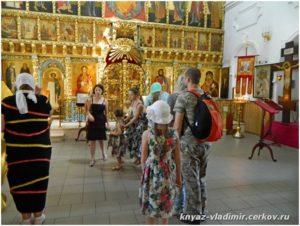 В храме Донской иконы Божией Матери