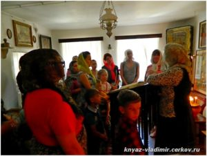 В доме св. праведного Павла Таганрогского